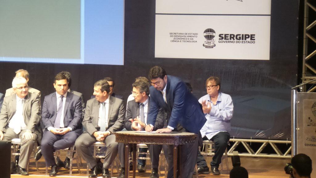 SERGAS assina Protocolos de Intenções durante a realização do Fórum Sergipano de Petróleo e Gás