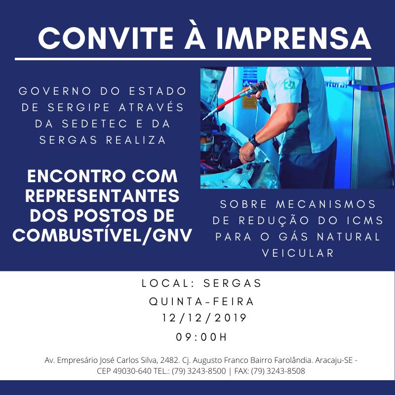 Convite à Imprensa