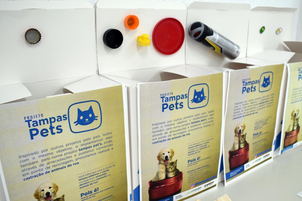 SERGAS realiza doações ao projeto Tampas Pets.