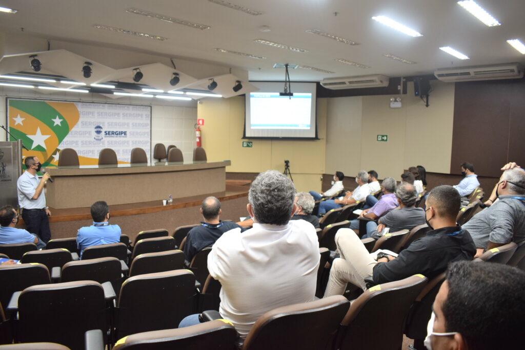Sergas participa de evento sobre Anomalias na Rede de Distribuição de Gás Natural canalizado.